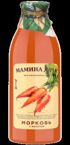 Мамина дача сок морковь соки Баринофф