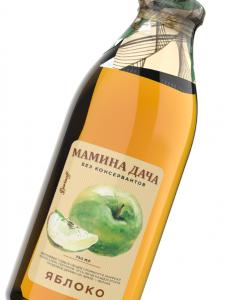 Яблочный сок Мамина дача соки Баринофф