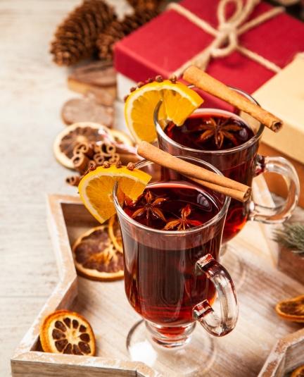 Безалкогольный глинтвейн «Зимняя романтика» - фото к статье
